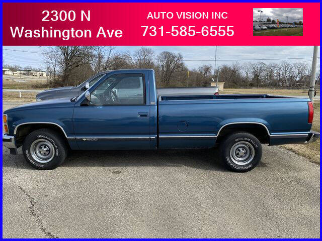 1991 Chevrolet C/K 1500 Series for sale at Auto Vision Inc. in Brownsville TN