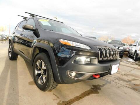 2014 Jeep Cherokee for sale at AP Auto Brokers in Longmont CO