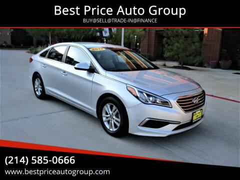 2017 Hyundai Sonata for sale at Best Price Auto Group in Mckinney TX