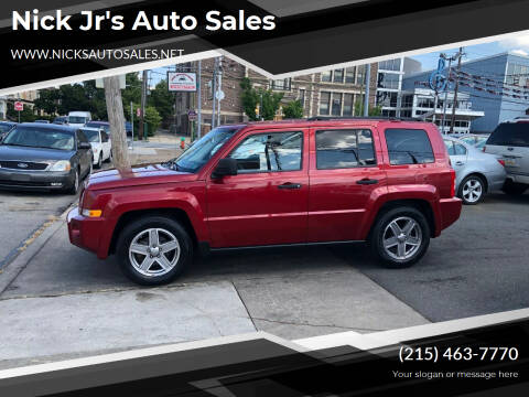 2008 Jeep Patriot for sale at Nick Jr's Auto Sales in Philadelphia PA