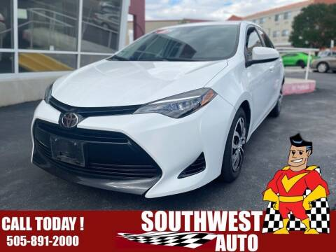 2018 Toyota Corolla for sale at SOUTHWEST AUTO in Albuquerque NM