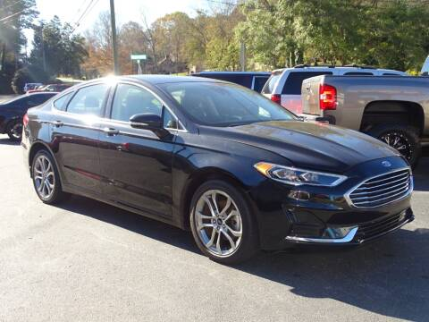 2019 Ford Fusion for sale at Luxury Auto Innovations in Flowery Branch GA