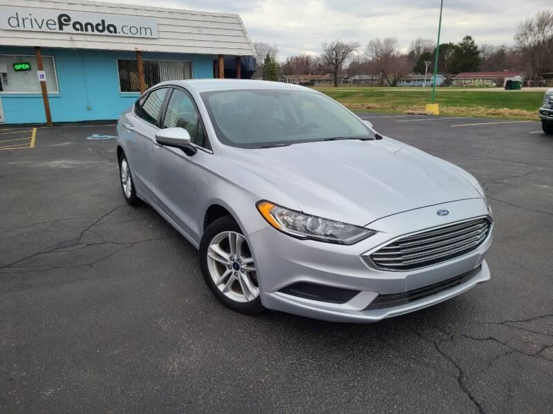2017 Ford Fusion for sale at DrivePanda.com in Dekalb IL