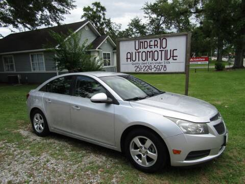2014 Chevrolet Cruze for sale at Under 10 Automotive in Robertsdale AL