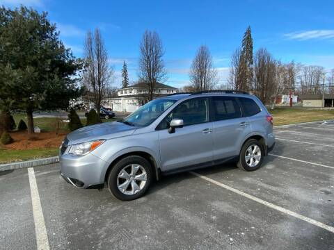 2014 Subaru Forester for sale at Chris Auto South in Agawam MA