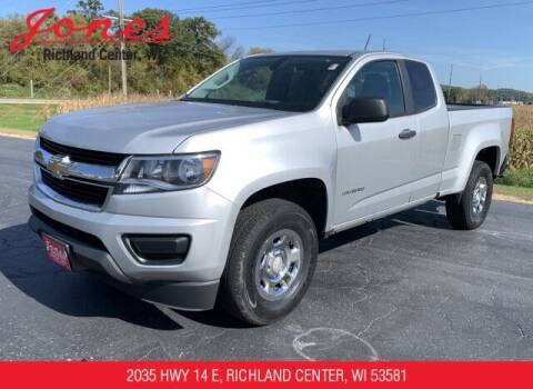 2019 Chevrolet Colorado for sale at Jones Chevrolet Buick Cadillac in Richland Center WI