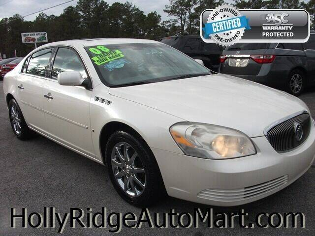 2008 Buick Lucerne for sale at Holly Ridge Auto Mart in Holly Ridge NC