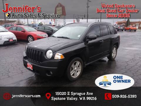 2008 Jeep Compass for sale at Jennifer's Auto Sales in Spokane Valley WA