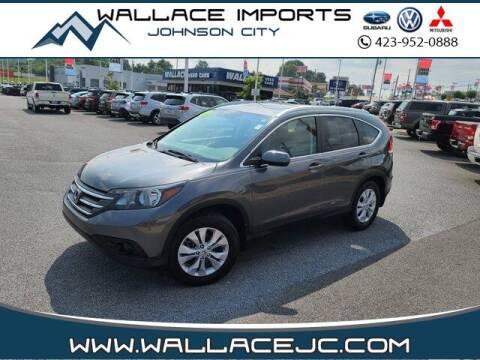 2013 Honda CR-V for sale at WALLACE IMPORTS OF JOHNSON CITY in Johnson City TN