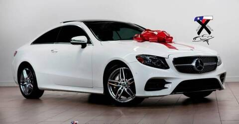 2018 Mercedes-Benz E-Class for sale at TX Auto Group in Houston TX