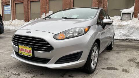 2014 Ford Fiesta for sale at Rocky's Auto Sales in Worcester MA