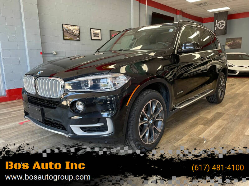 2015 BMW X5 for sale at Bos Auto Inc in Quincy MA