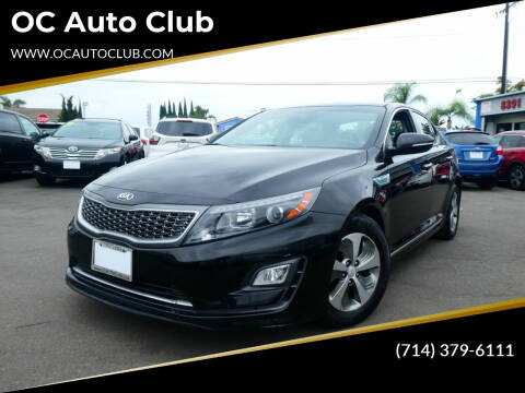 2015 Kia Optima Hybrid for sale at OC Auto Club in Midway City CA
