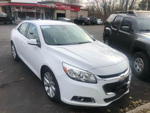 2015 Chevrolet Malibu for sale at Right Place Auto Sales in Indianapolis IN