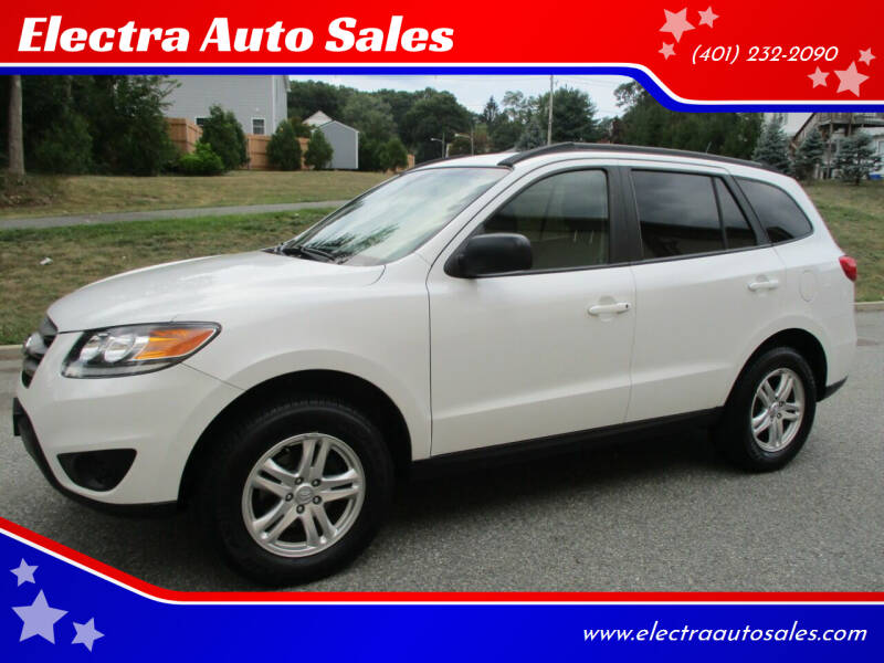 2012 Hyundai Santa Fe for sale at Electra Auto Sales in Johnston RI