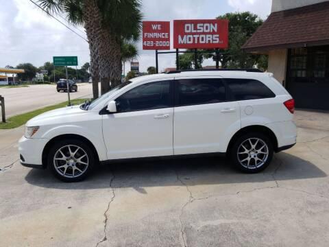 2012 Dodge Journey for sale at Olson Motors LLC in Saint Augustine FL
