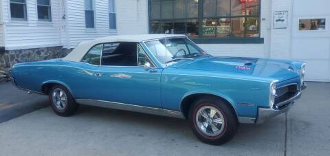 1967 Pontiac GTO for sale at Carroll Street Auto in Manchester NH