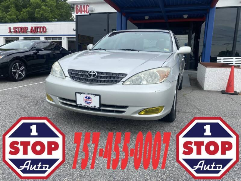 2004 Toyota Camry for sale at 1 Stop Auto in Norfolk VA