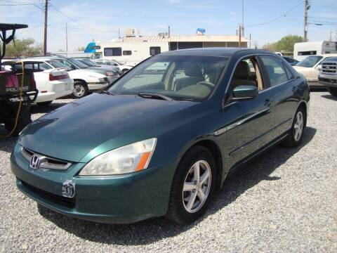 2003 Honda Accord for sale at One Community Auto LLC in Albuquerque NM