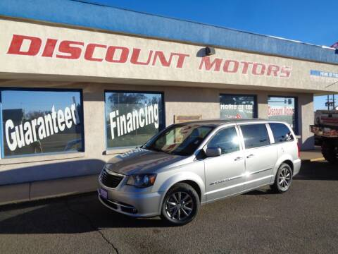 2015 Chrysler Town and Country for sale at Discount Motors in Pueblo CO