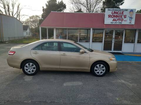 2011 Toyota Camry for sale at Uncle Ronnie's Auto LLC in Houma LA