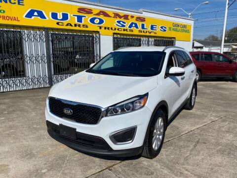 2016 Kia Sorento for sale at Sam's Auto Sales in Houston TX