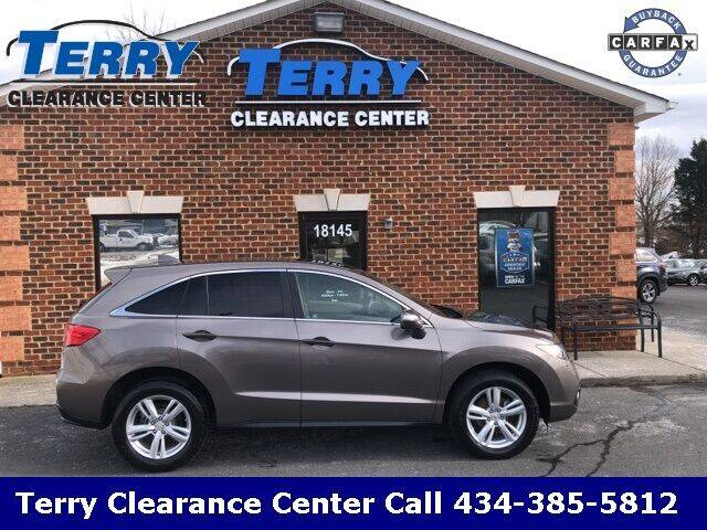 2013 Acura RDX for sale at Terry Clearance Center in Lynchburg VA