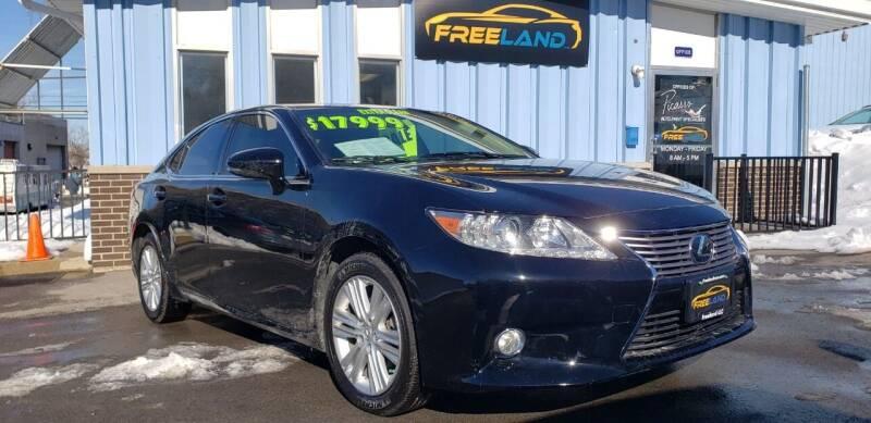 2014 Lexus ES 350 for sale at Freeland LLC in Waukesha WI