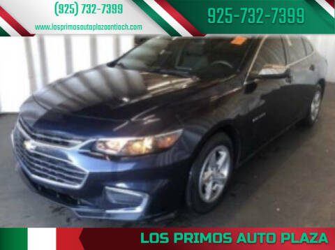2016 Chevrolet Malibu for sale at Los Primos Auto Plaza in Antioch CA