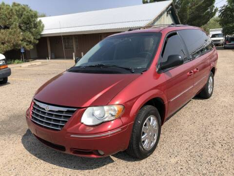 2005 Chrysler Town and Country for sale at Top Gun Auto Sales, LLC in Albuquerque NM