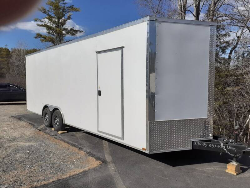 2021 Quality Cargo 8.5x24 Enclosed Trailer for sale at Mascoma Auto INC in Canaan NH