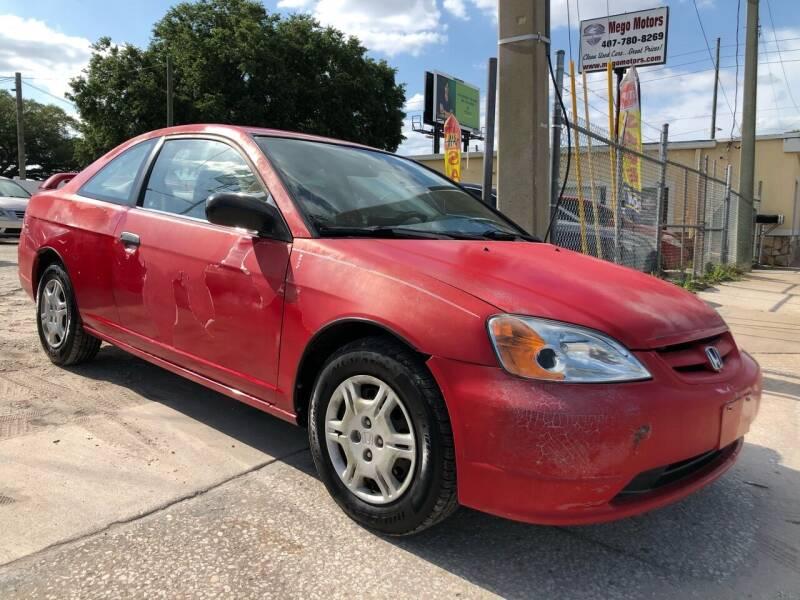 2001 Honda Civic for sale at Mego Motors in Orlando FL