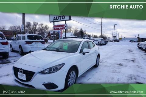2014 Mazda MAZDA3 for sale at Ritchie Auto in Appleton WI