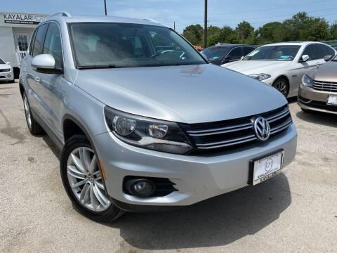 2014 Volkswagen Tiguan for sale at KAYALAR MOTORS in Houston TX