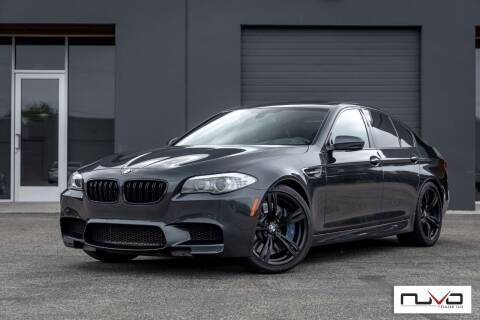 2013 BMW M5 for sale at Nuvo Trade in Newport Beach CA