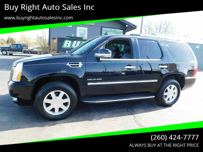 2013 Cadillac Escalade for sale at Buy Right Auto Sales Inc in Fort Wayne IN
