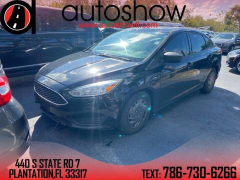 2015 Ford Focus for sale at AUTOSHOW SALES & SERVICE in Plantation FL