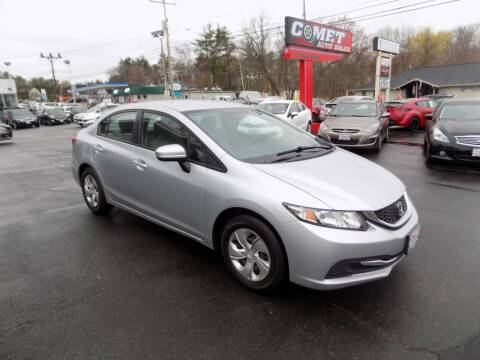 2014 Honda Civic for sale at Comet Auto Sales in Manchester NH