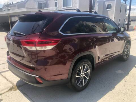 2017 Toyota Highlander for sale at Bell Auto Inc in Long Beach CA