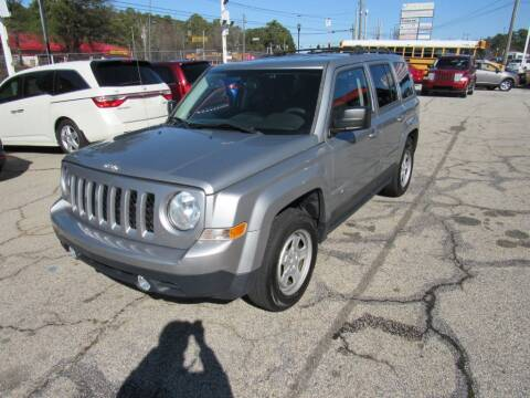 2015 Jeep Patriot for sale at King of Auto in Stone Mountain GA