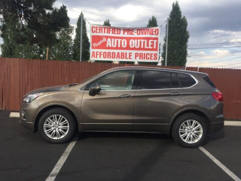 2018 Buick Envision for sale at Flagstaff Auto Outlet in Flagstaff AZ