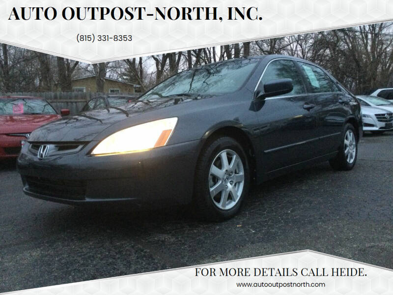 2005 Honda Accord for sale at Auto Outpost-North, Inc. in McHenry IL