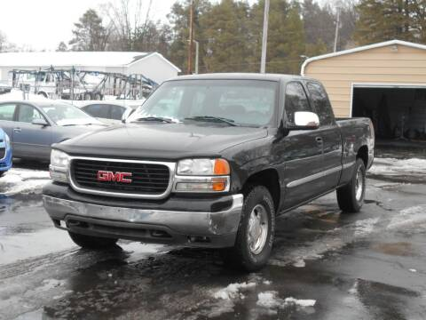 2002 GMC Sierra 1500 for sale at MT MORRIS AUTO SALES INC in Mount Morris MI