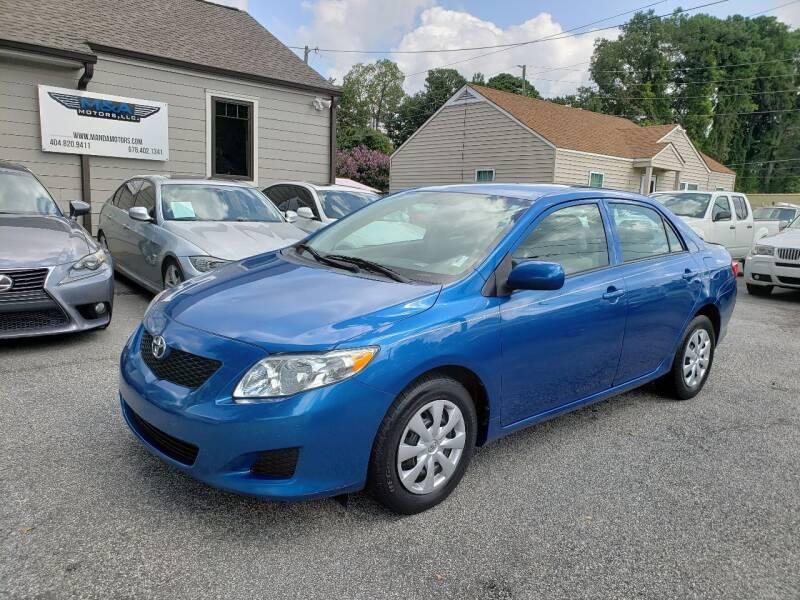 2010 Toyota Corolla for sale at M & A Motors LLC in Marietta GA