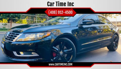 2013 Volkswagen CC for sale at Car Time Inc in San Jose CA
