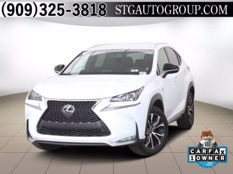 2016 Lexus NX 200t for sale at STG Auto Group in Montclair CA