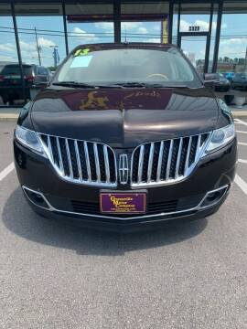 2013 Lincoln MKX for sale at Kinston Auto Mart in Kinston NC