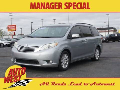 2014 Toyota Sienna for sale at Autowest of GR in Grand Rapids MI