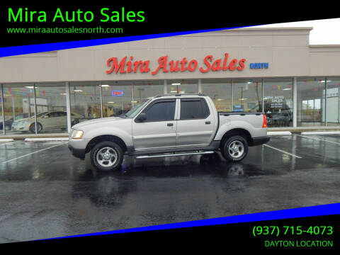 2004 Ford Explorer Sport Trac for sale at Mira Auto Sales in Dayton OH