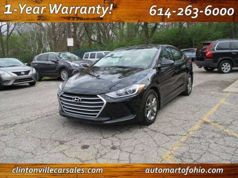 2018 Hyundai Elantra for sale at Clintonville Car Sales - AutoMart of Ohio in Columbus OH